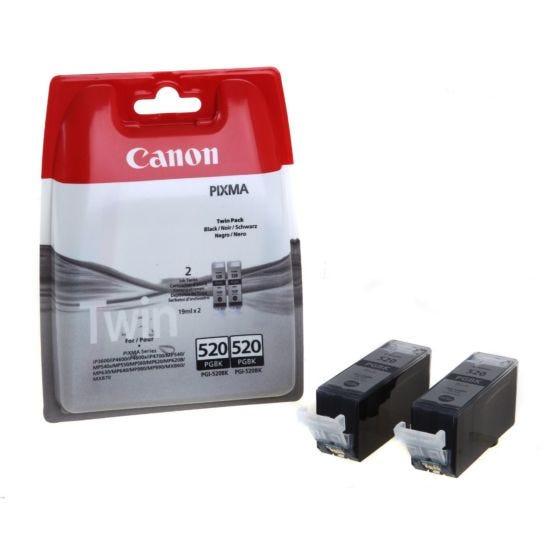 Canon Ink Cartridge PGI-520 Twin Pack 19ml x 2