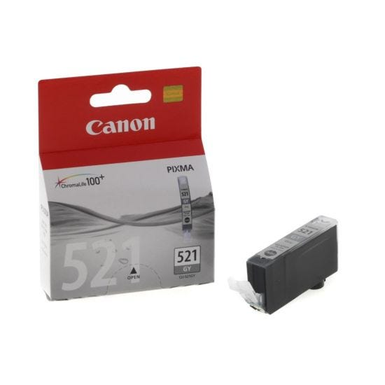 Canon CLI-521GY Ink Cartridge 9ml