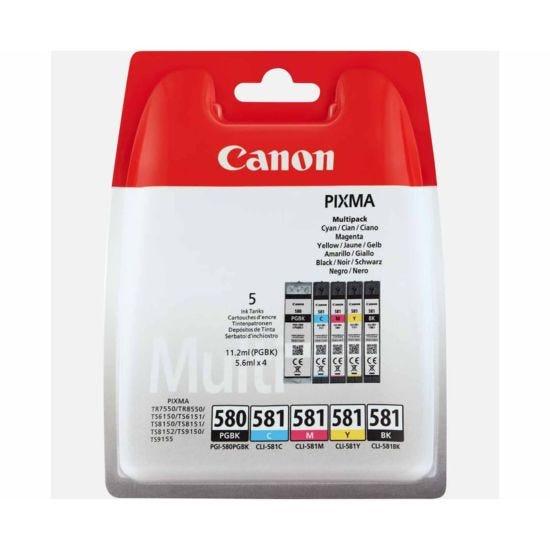 Canon PGI-580/CLI-581 Multipack Original Ink Cartridges