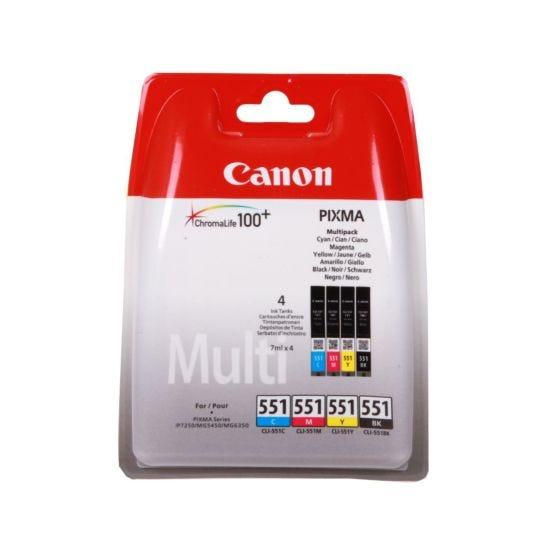 Canon CLI-551 Inkjet Cartridge Multipack