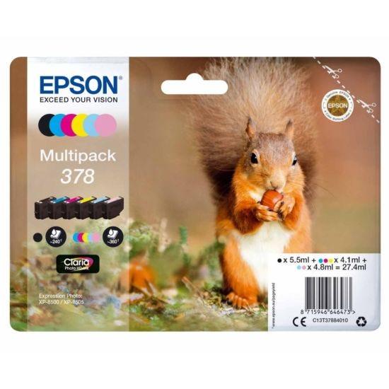 Epson 378 Squirrel Ink Cartridge Multipack