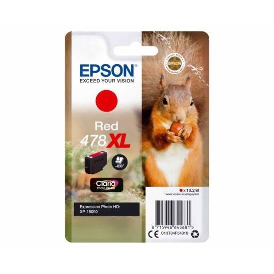 Epson 478XL Red Squirrel Original Ink Cartridge