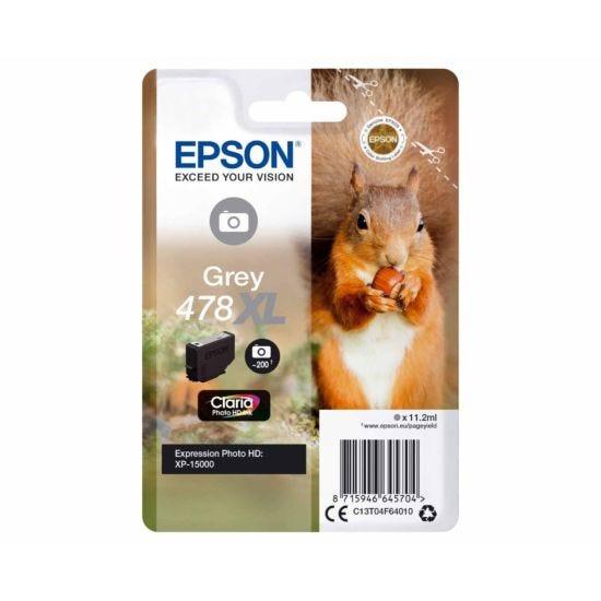 Epson 478XL Grey Squirrel Original Ink Cartridge