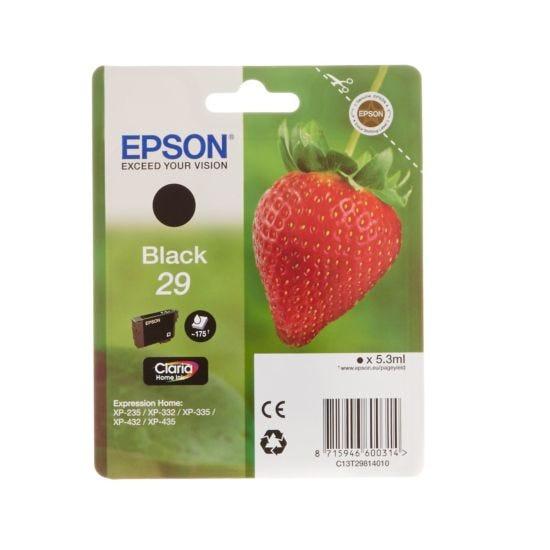 Epson 29 Strawberry Home Ink Cartridge  Black