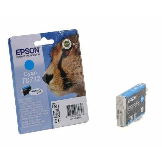Epson T0712 Ink Cartridge 5.5ml