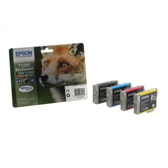 Epson Printer Inkjet Cartridge Multipack T1285