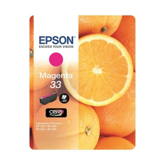 Epson 33 Orange Home Ink Cartridge Magenta