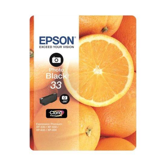 Epson 33 Orange Home Ink Cartridge Photo Black