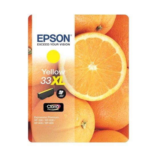 Epson 33 Orange Home Ink Cartridge Yellow