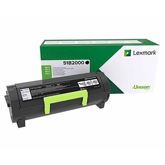 Lexmark 51B2000 Black Original Toner Cartridge