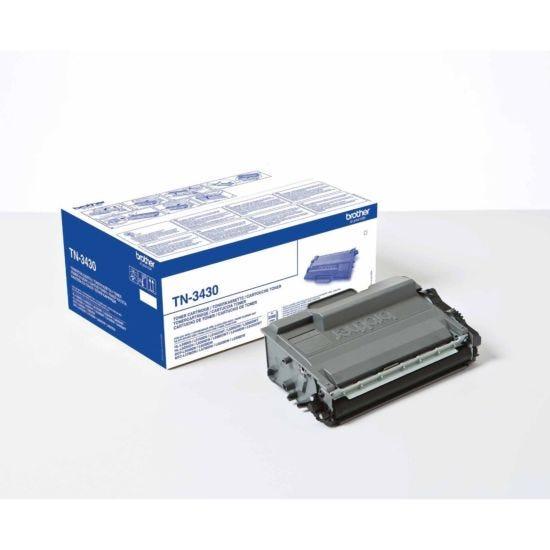 Brother TN-3430 Black Original Toner Cartridge