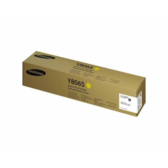 Samsung CLT-Y806S Yellow Original Toner Cartridge