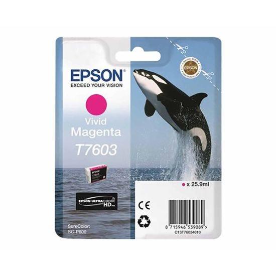 Epson T7603 Vivid Ink Cartridge Magenta