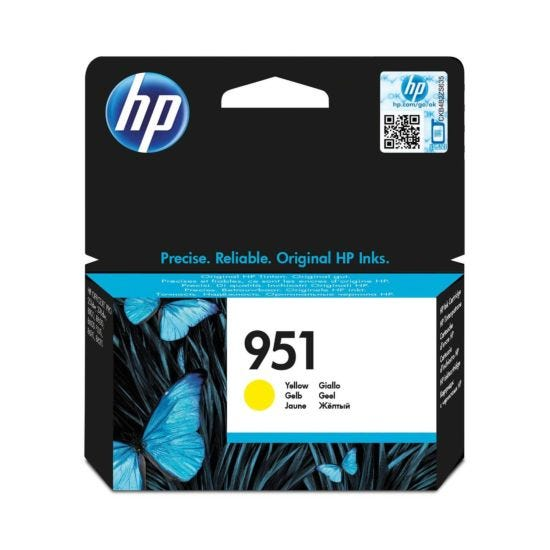 HP 951 Officejet Ink Cartridge Yellow