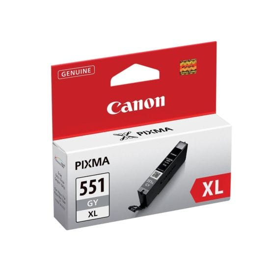 Canon CLI-551XLGY Ink Cartridge Grey Ink