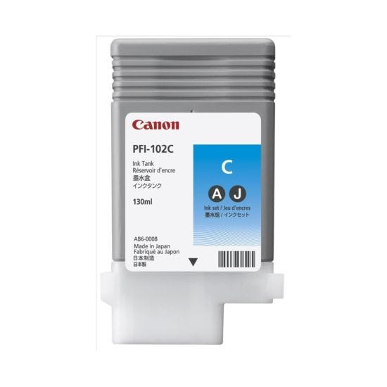 Canon IPF600 Cyan Original Ink Tank Cartridge