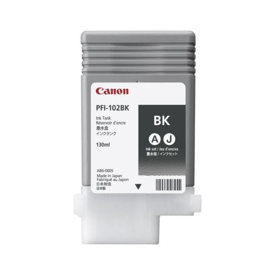 Canon IPF600 Black Original Ink Tank Cartridge