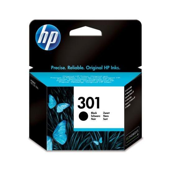 HP Inkjet Cartridge 301 Black