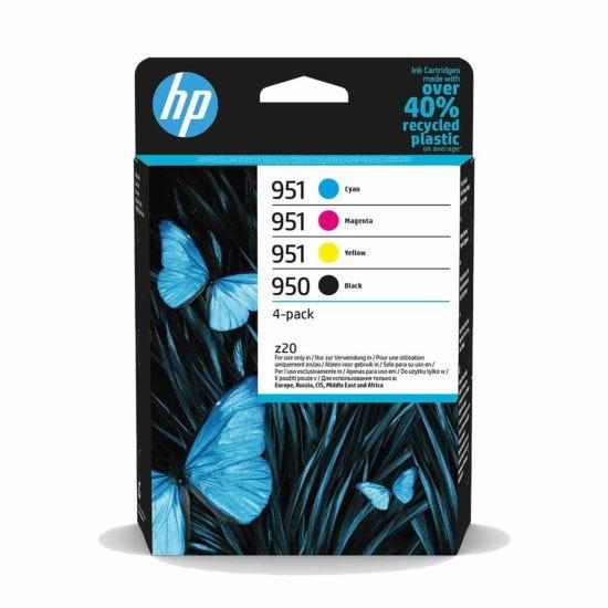 HP 950/951 CMYK Multipack Ink Cartridge Pack of 4