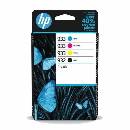 HP 932/933 CMYK Multipack Ink Cartridge Pack of 4