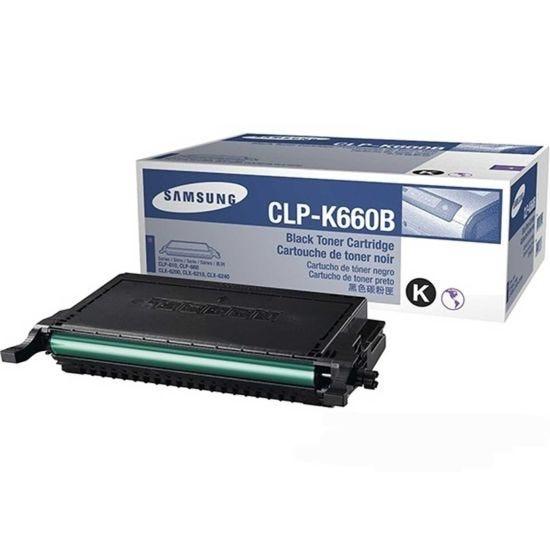 Samsung CLP-k660B Printer Ink Toner Cartridge