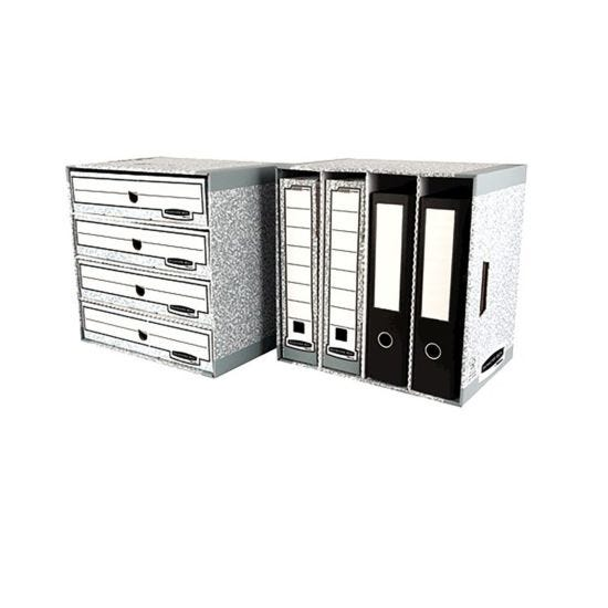 Bankers Box by Fellowes System File Store Module with Fastfold