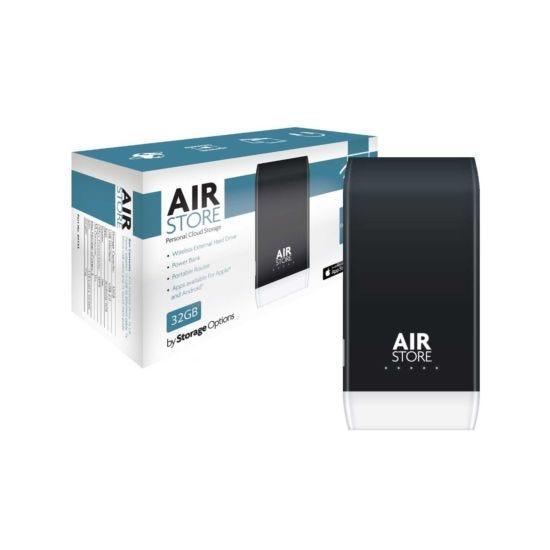 Storage Options 32GB AirStore Personal Cloud Storage
