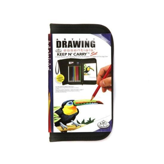 Royal & Langnickel Keep N Carry Drawing Set