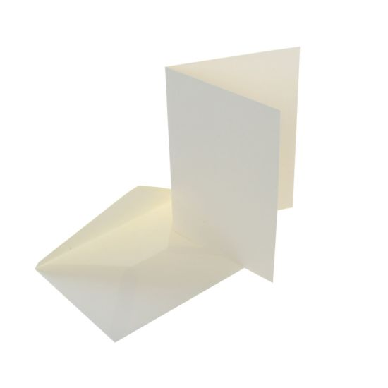 Craft UK Cards and Envelopes 7x5 Pack of 50