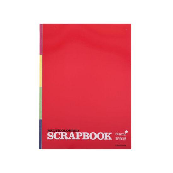 Silvine A4 Scrap Book 100gsm 40Lvs