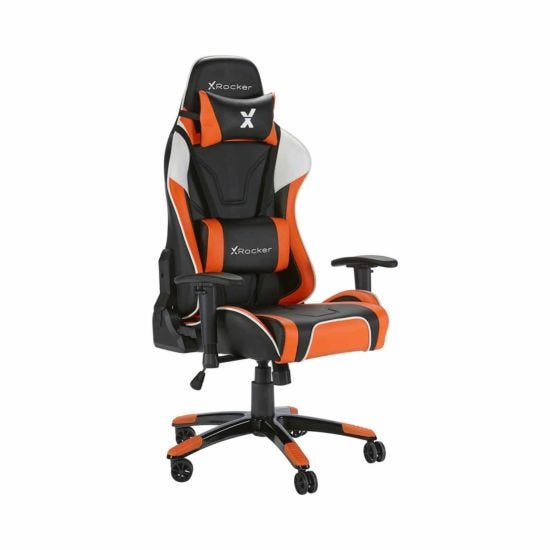 X Rocker Agility eSports Office Gaming Chair Orange