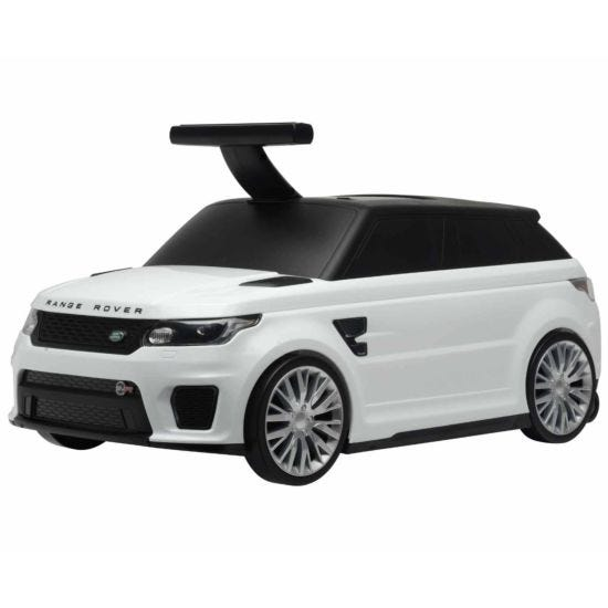 Range Rover 2 in 1 Suitcase and Ride On - White