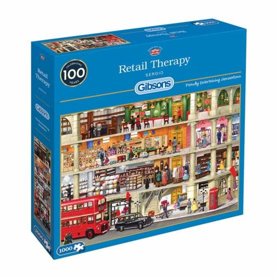 Gibsons Retail Therapy 1000 Piece Jigsaw Puzzle