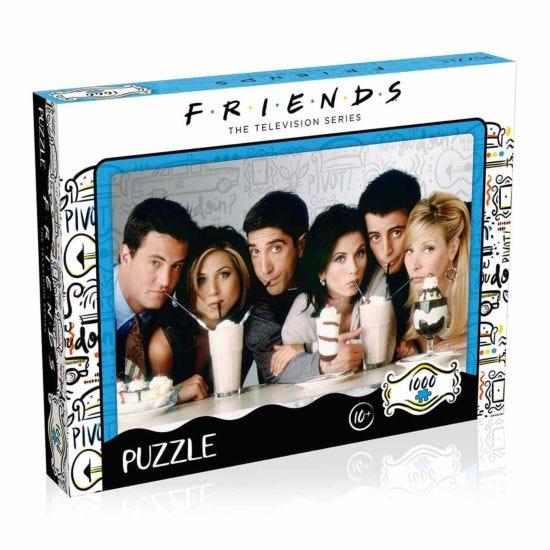 Friends Milkshake Edition 1000 Piece Jigsaw Puzzle