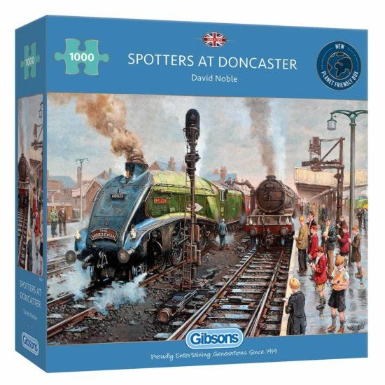 Gibsons Spotters at Doncaster 1000 Piece Jigsaw Puzzle