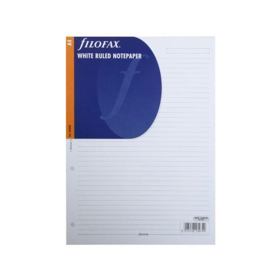 Filofax Refill A4 20 Sheets Ruled