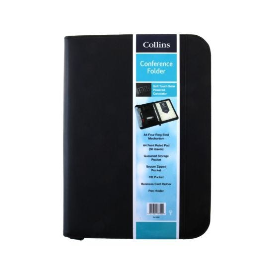Collins Conference A4  Ring Binder With Zipper