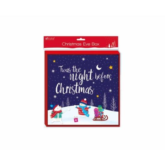 Christmas Eve Gift Box Twas The Night Before Christmas
