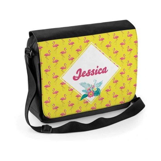 Ryman Personalised Flamingo Shoulder Bag