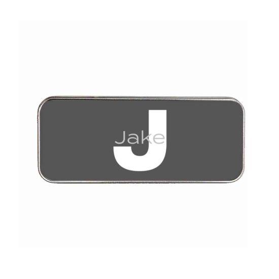 Ryman Personalised Slate Initial Pencil Tin
