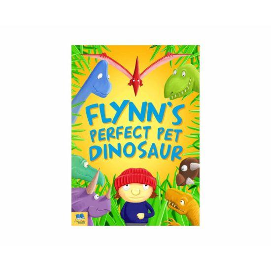 Personalised Dinosaur Story Book Softback