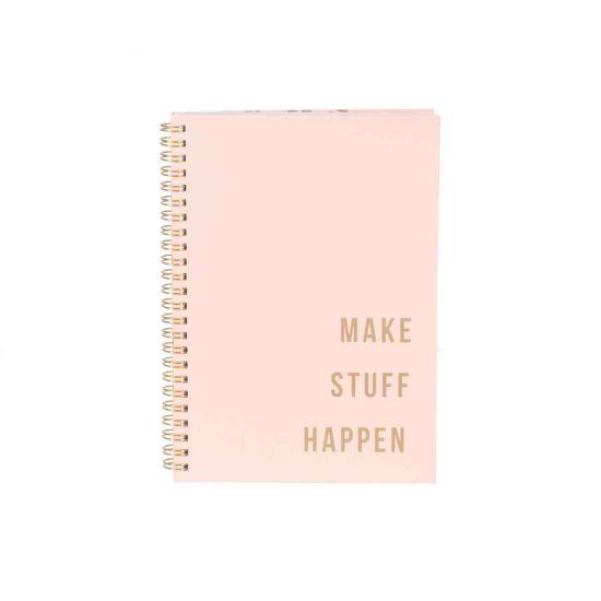 Eden Make Stuff Happen A5 Notebook