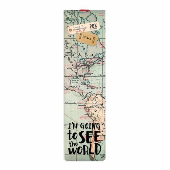 Legami Elastic Bookmark Travel