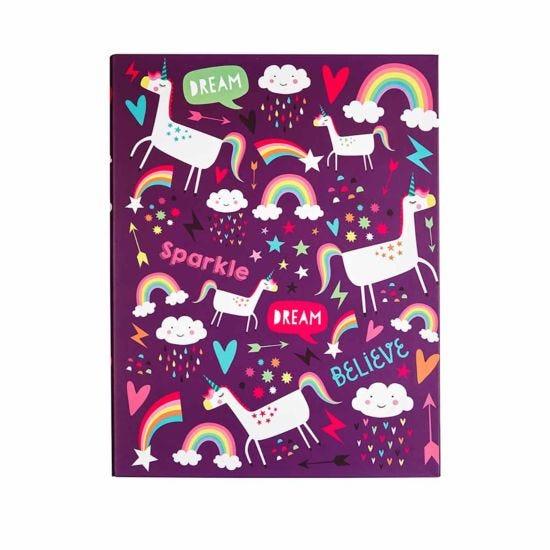 Unicorn Dreams A4 Ring Binder