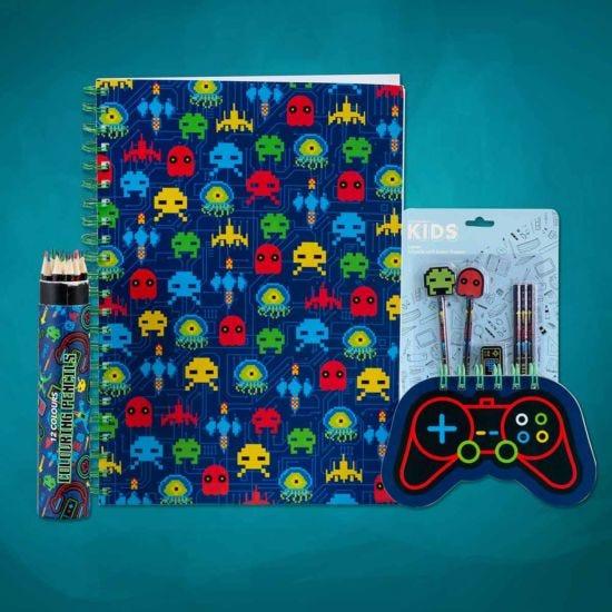 Essential Gamer Stationery Bundle