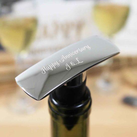Personalised Hadley Wine Stopper