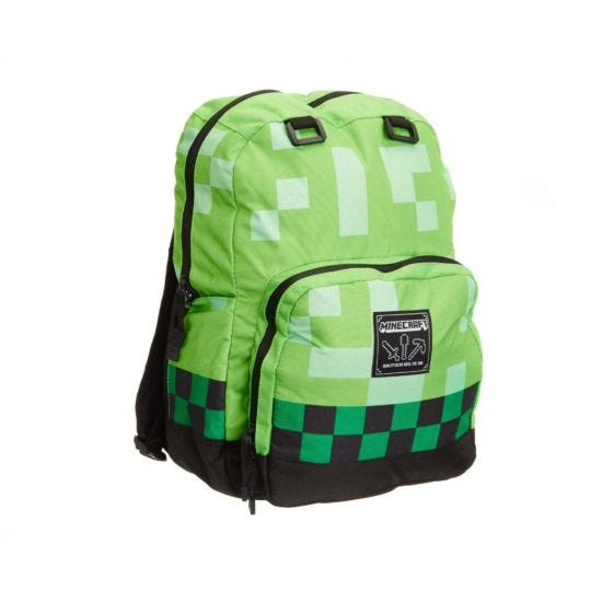 Minecraft Backpack Green