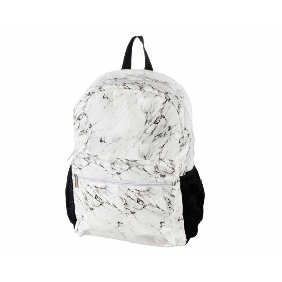 Marble Print Backpack