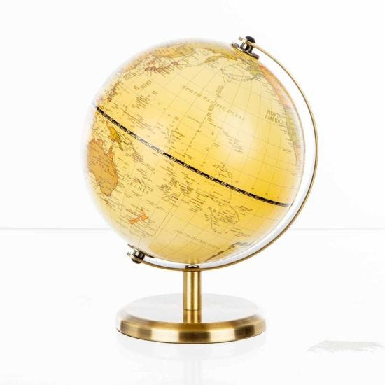 Ryman Mini Antique Globe 14cm