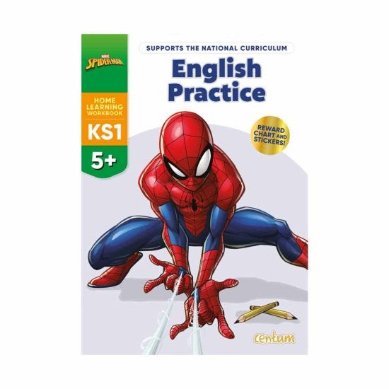 Centum Disney Learning Spiderman English Practice 5